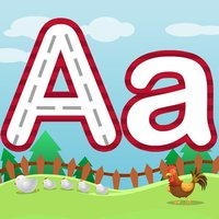 Letter Trace with Uppercase, Lowercase, and Short Words