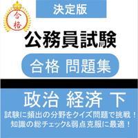 公務員試験 政治経済(下) 教養試験