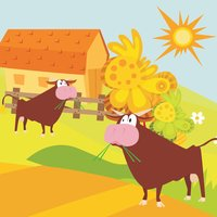 A Sort By Size Game for Children: Learn and Play with Farm Animals