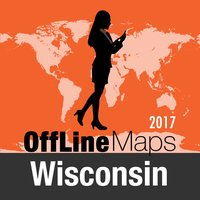 Wisconsin Offline Map and Travel Trip Guide