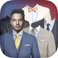 Man's Suit Fashion Photo Editor – Pictures Montage