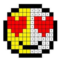 Emoji Color By Number Book