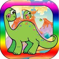 Pre-K Activities Puzzles - Dinosaur Jigsaw Game
