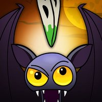 A Vampire Bat Escape Flight FREE - The Flying Monsters Midnight Race