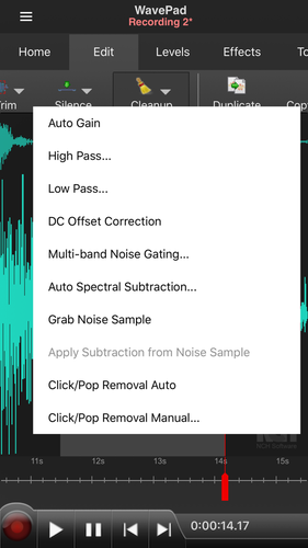 WavePad Music and Audio Editor App for iPhone - Free