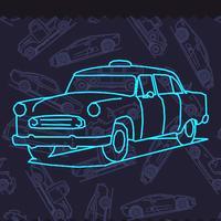 Light Car : Rotation Art!