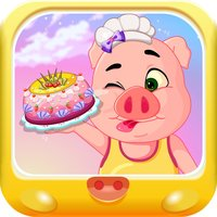 小猪美食大作战 烹饪甜心蛋糕