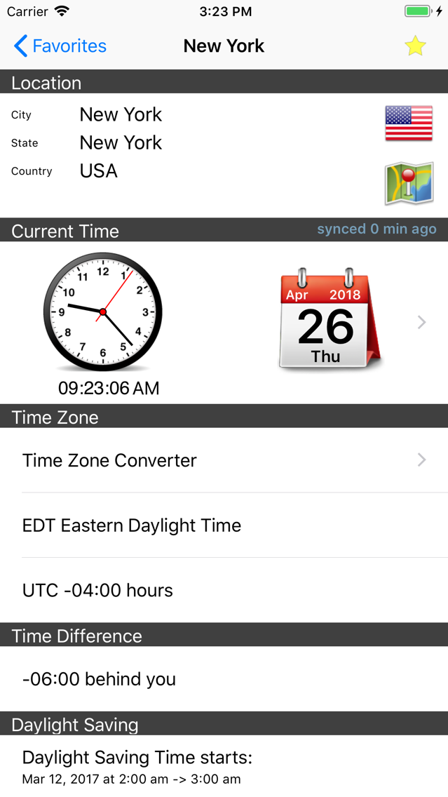 World Clock – Time Zones App for iPhone - Free Download