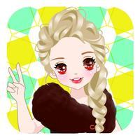 Dress Up pretty princess-High Fashion Make up game