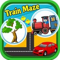 Train Maze Kindergarten