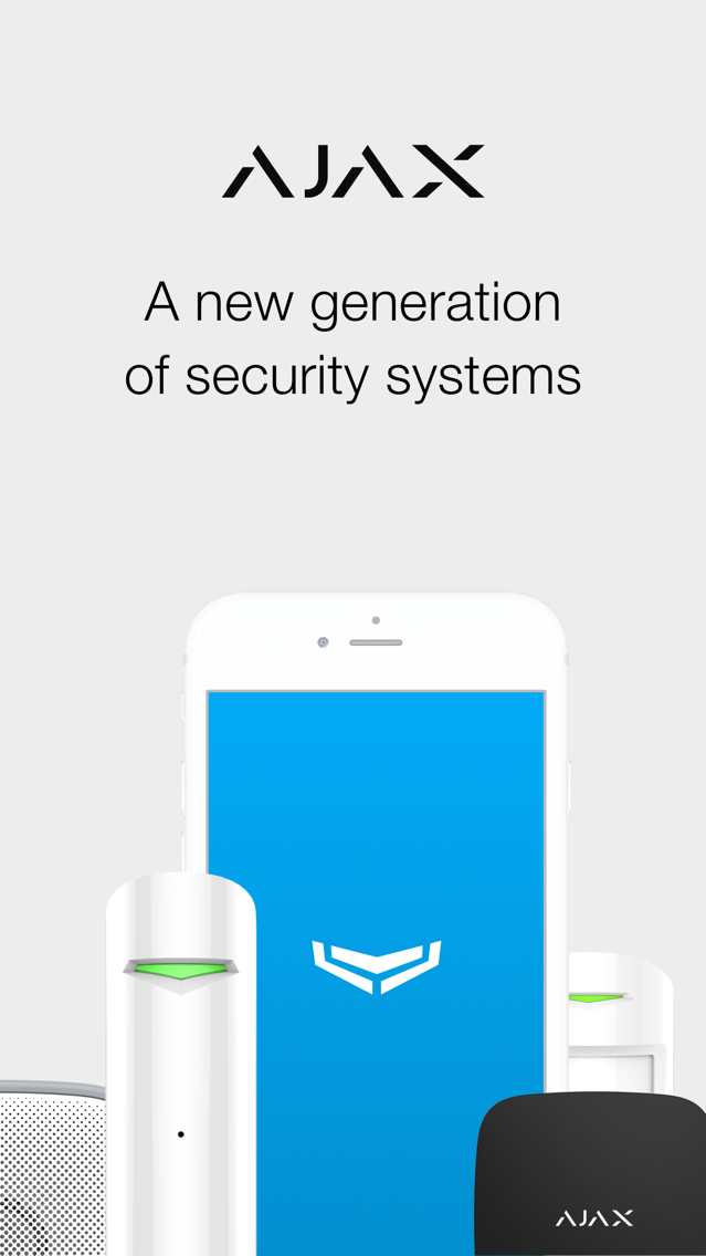 Ajax Security System App for iPhone - Free Download Ajax