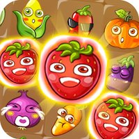 Farm Double Link - Vegetables And Fruits Jovial