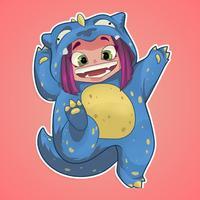 Dragon Girl Stickers