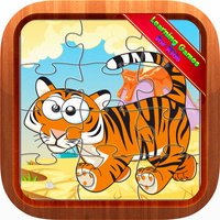 Animal Jigsaw Puzzles Educational Games for Kids