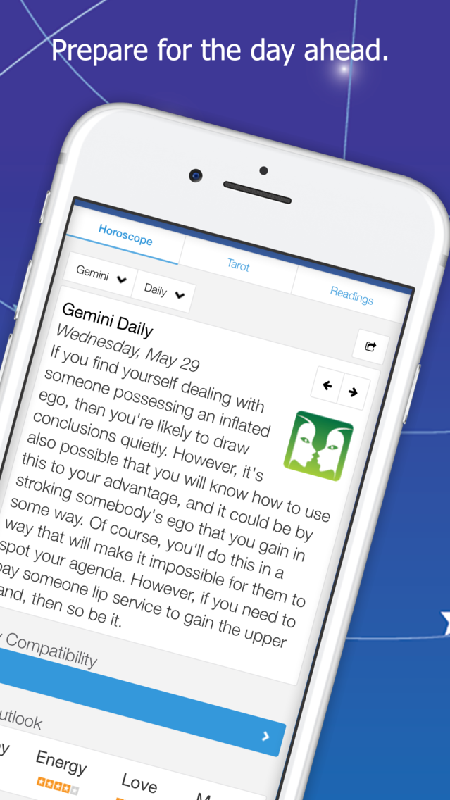 Astrolis Horoscopes & Tarot App for iPhone - Free Download