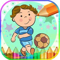 Kids Sport Coloring Book