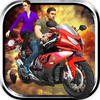 Bikers Hot Pursuit - 3D Racing and Shooting Game