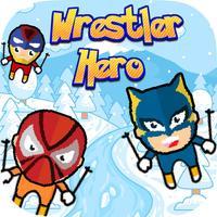 Wrestler Masks Superhero - Escape Snowfall