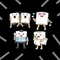 Toilet Paper Emojis