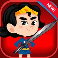 Wonder Woman Warrior Game girl runner fun fighting