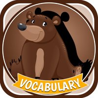 Cute Zoo Animals Vocabulary Learning Puzzle Game