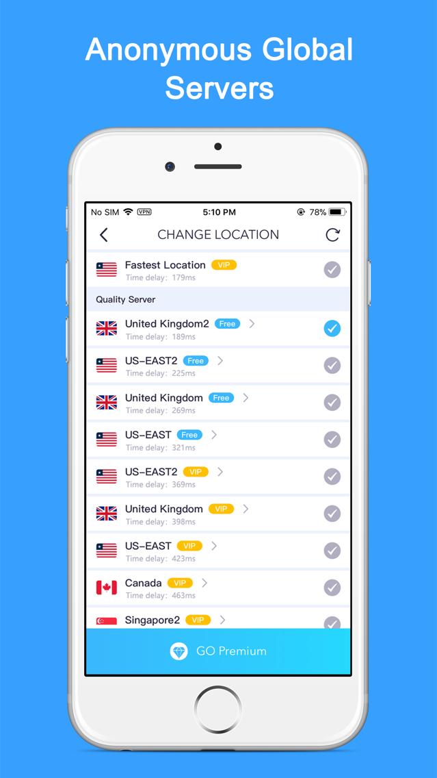 VPN - Unlimited Best VPN Proxy App for iPhone - Free