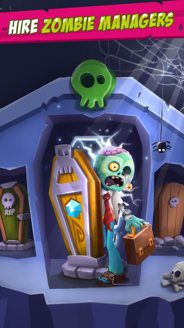 Zombies Inc - Idle Clicker App for iPhone - Free Download