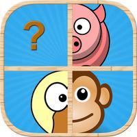 Animal Pairs Matching : Fun Animals Farm Puzzles Game For Kid