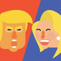 Trump vs Clinton - run for your candidate!