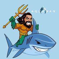 Aquaman Sticker Pack