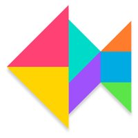 Tangram Puzzle-Fun jigsaw
