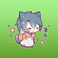Kitt The Cutie Cat Girl Stickers 2