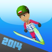 Sochi Ski Jumping 3D - Winter Sports Free Version