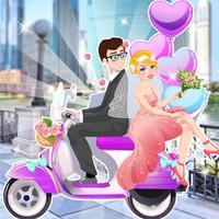 لعبة تلبيس ومكياج العروسة والعريس - العاب بنات