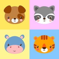 Animal Cards Matching Puzzle Games for Kids