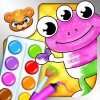 Libro de colorear - Juego de colorear