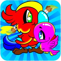 The Birds Coloring Books For Kids - Drawing Painting Games