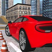 Multi Desert City Level Luxurious Cars Parking