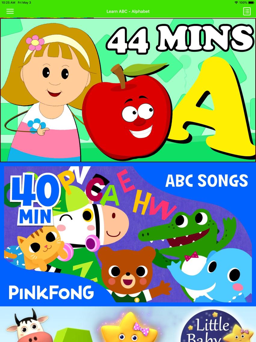 ABC Baby Songs - Nursery Rhymes - YouTube