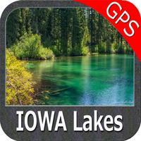 Iowa lakes - fishing gps nautical charts offline