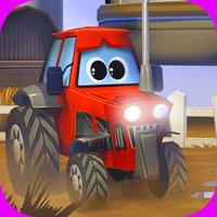 A Little Tractor in Action Free: Best 3D Free Driver Game for Kids