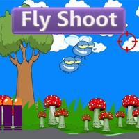 Fly shooting happy in range