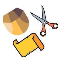Rock Paper Scissors.