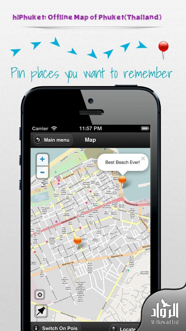phuket offline map