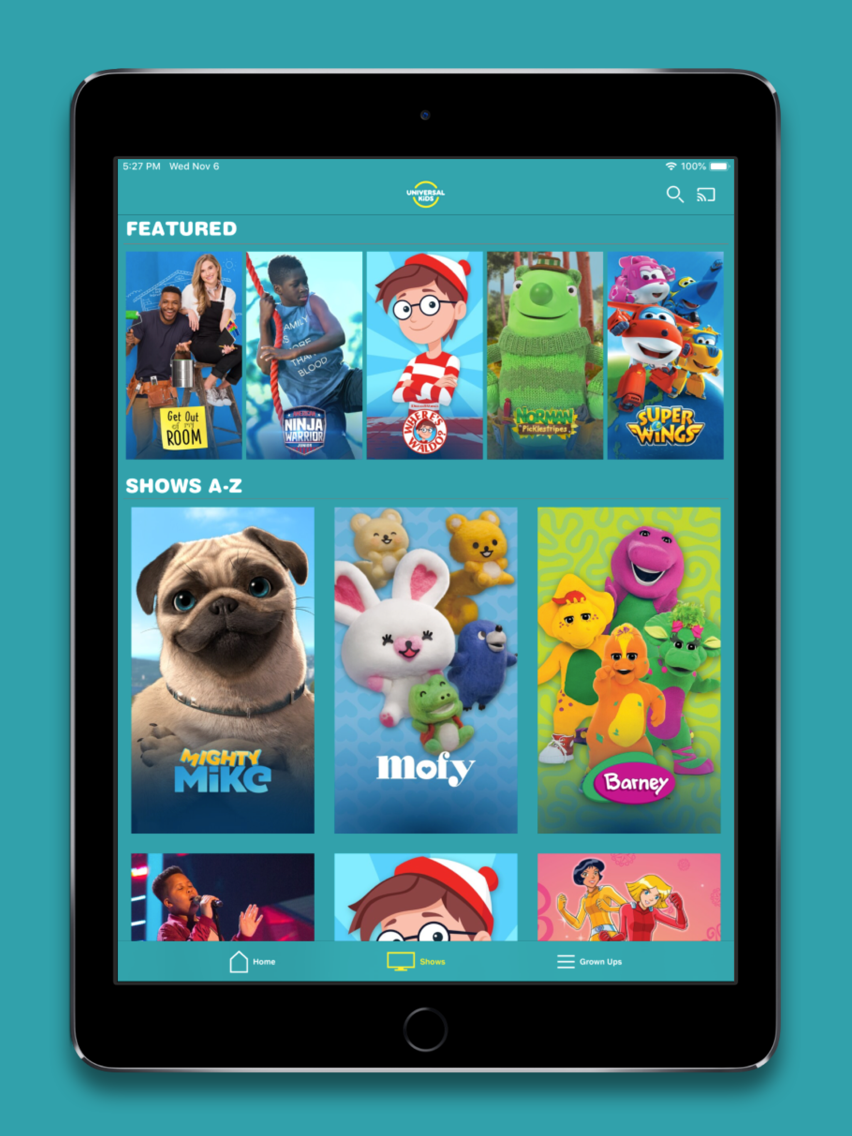 Universal Kids App for iPhone - Free Download Universal Kids for