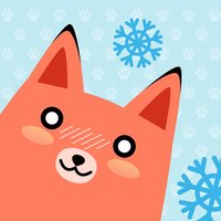 Moji Fox Stickers