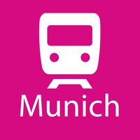Munich Rail Map Lite