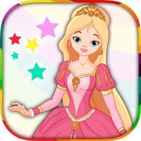 Princess - coloring book
