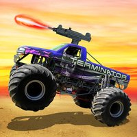Monster truck Offroad Shooting - Free Racing Game