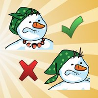 Find the ten differences with funny winter and autumns cartoons